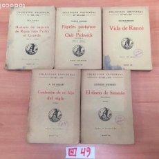 Libros: COLECCION UNIVERSAL. Lote 196018122