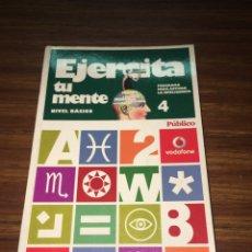 Libros: EJERCITA TU MENTE NIVEL BÁSICO TOMO CUATRO. Lote 196208717