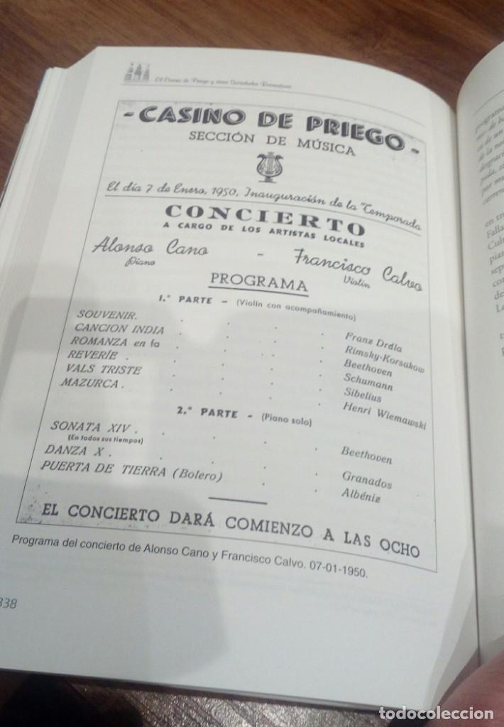 Libros: EL CASINO DE PRIEGO Y OTRAS SOCIEDADES RECREATIVAS (CORDOBA) - Foto 4 - 196513433