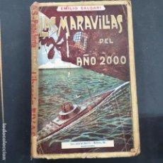 Libros: MARAVILLAS DEL AÑO 2000 SALGARI MAUCCI. Lote 196524121