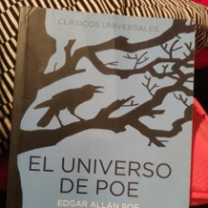 Libros: EL UNIVERSO DE POE. Lote 197591235