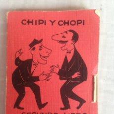 Libros: CHIPI Y CHOPI SEGUNDO LIBRO DE CHISTES. Lote 198165768
