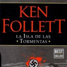 Libros: LA ISLA DE LAS TORMENTAS DE KEN FOLLETT - PENGUIN RANDOM HOUSE, 2017 (NUEVO). Lote 198740157