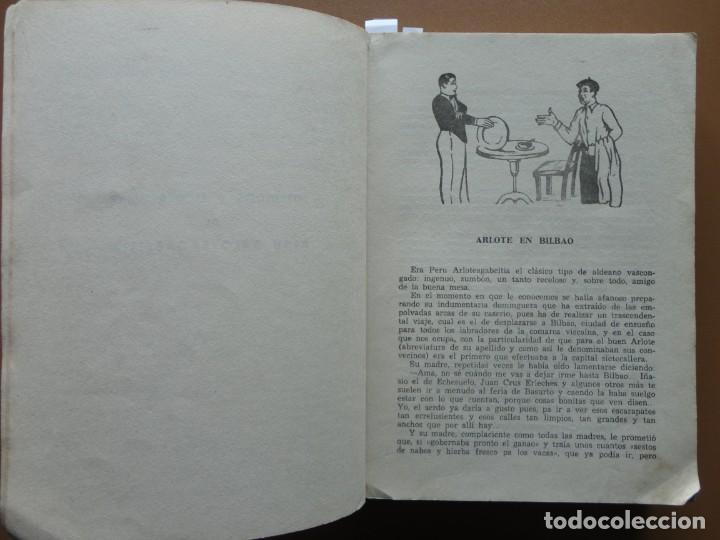 Libros: ARLOTADAS. CUENTOS Y SUCEDIDOS VASCOS - Foto 3 - 198896412