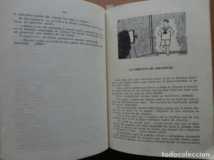 Libros: ARLOTADAS. CUENTOS Y SUCEDIDOS VASCOS - Foto 5 - 198896412