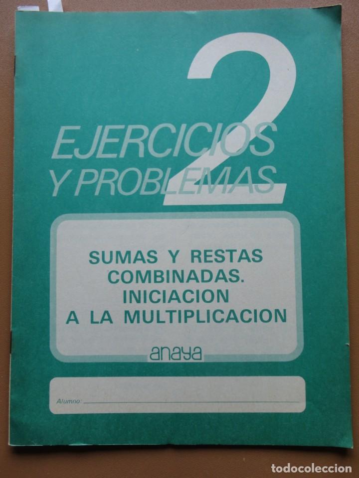 Libros: EJERCICIOS Y PROBLEMAS 1-2 Anaya 1983 - Foto 4 - 198904993