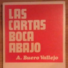 Libri di seconda mano: LAS CARTAS BOCA ABAJO - BUERO VALLEJO, ANTONIO. Lote 199642066