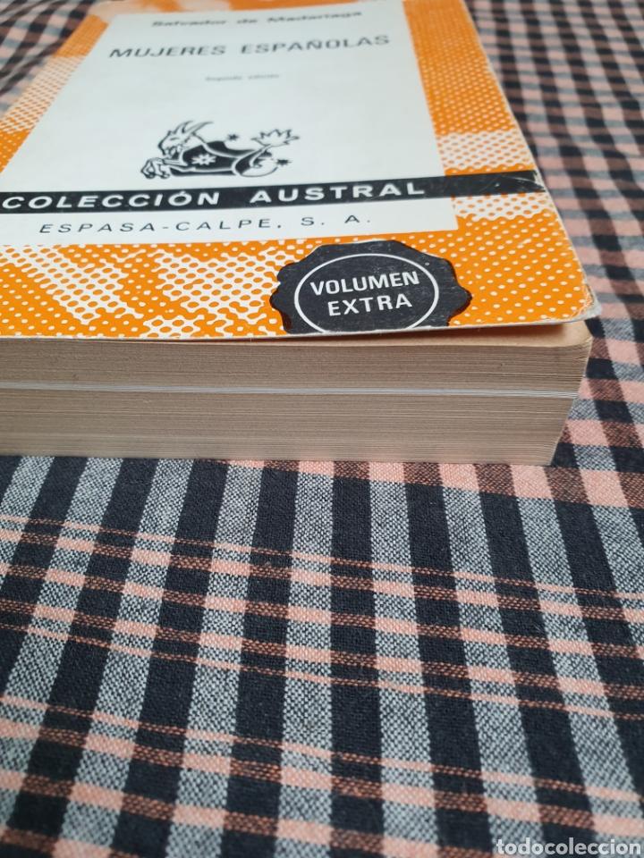 Libros: Salvador de Madariaga, mujeres españolas, volumen extra, con imágenes, austral. - Foto 2 - 201188068
