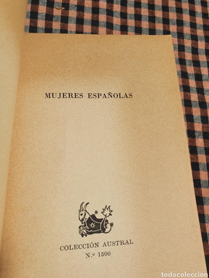 Libros: Salvador de Madariaga, mujeres españolas, volumen extra, con imágenes, austral. - Foto 8 - 201188068