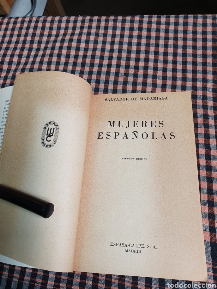 Libros: Salvador de Madariaga, mujeres españolas, volumen extra, con imágenes, austral. - Foto 9 - 201188068