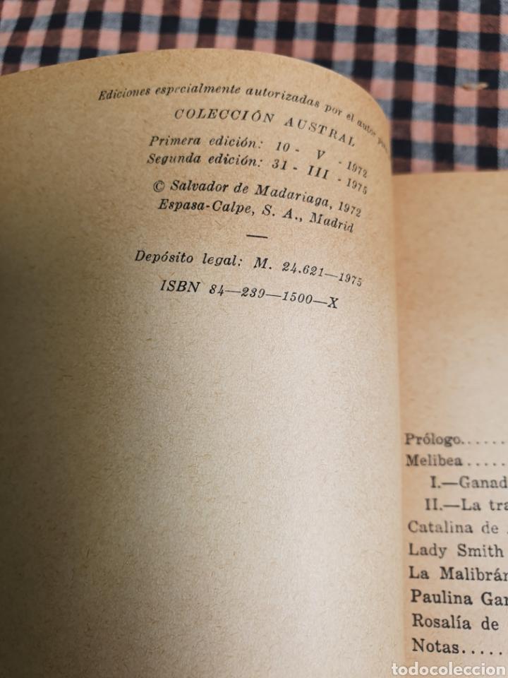 Libros: Salvador de Madariaga, mujeres españolas, volumen extra, con imágenes, austral. - Foto 10 - 201188068