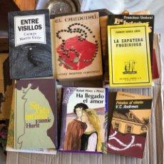 Libros: LOTE DE LIBROS 12 EN TOTAL, MUY BUEN ESTADO. Lote 201548400