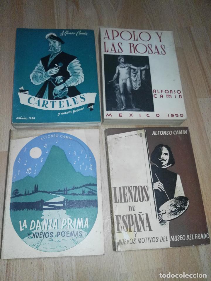 LOTE LIBROS ALFONSO CAMÍN (Libros sin clasificar)