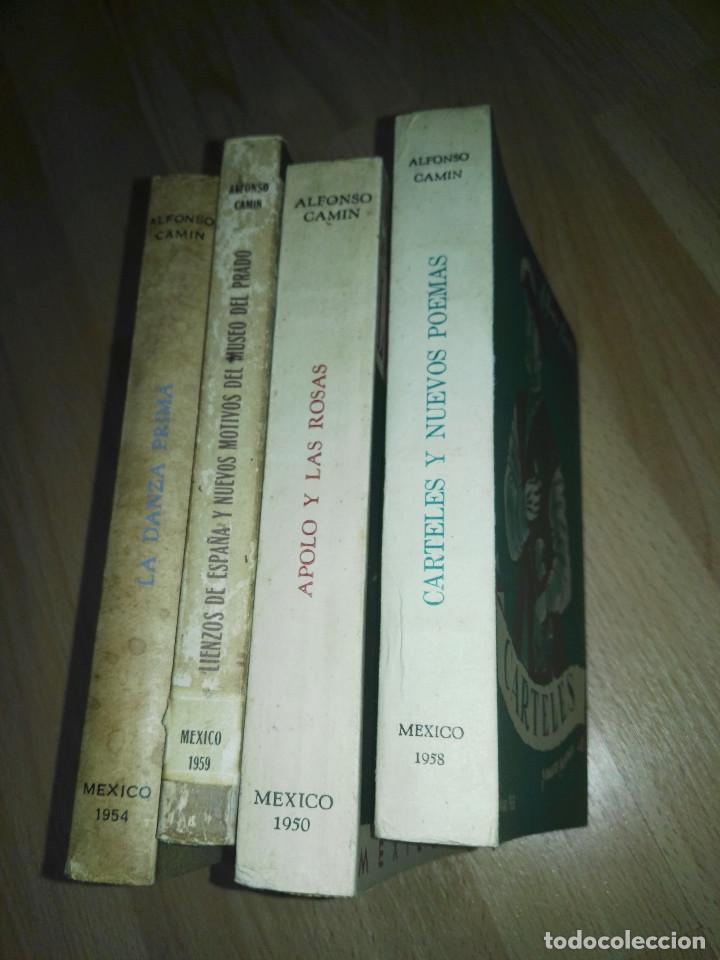 Libros: Lote libros Alfonso Camín - Foto 6 - 201952425