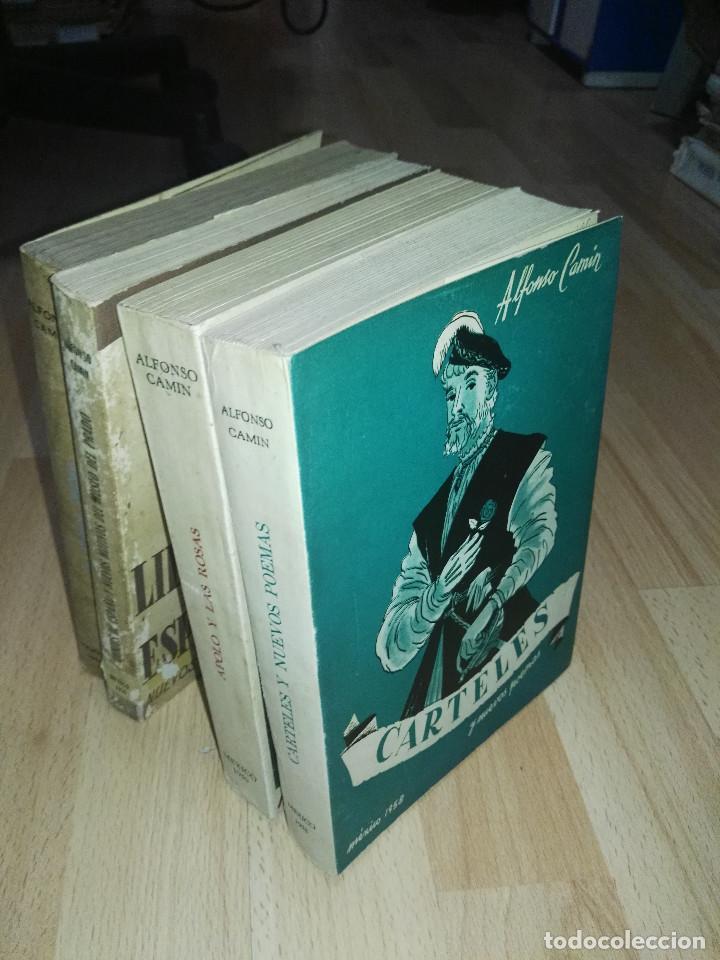 Libros: Lote libros Alfonso Camín - Foto 8 - 201952425