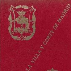 Libros: HISTORIA DE LA VILLA Y CORTE DE MADRID TOMO TERCERO (ENVIO PENINS MENS) - JOSE AMADOR DE LOS RIOS Y. Lote 81351868