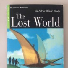 Libros: THE LOST WORLD - SIR ARTHUR CONAN DOYLE + CD. Lote 202493955