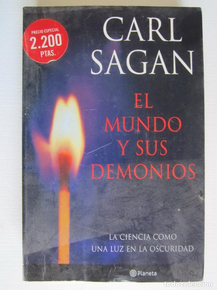 LIBRO EL MUNDO Y SUS DEMONIOS CARL SAGAN (Libros sin clasificar)