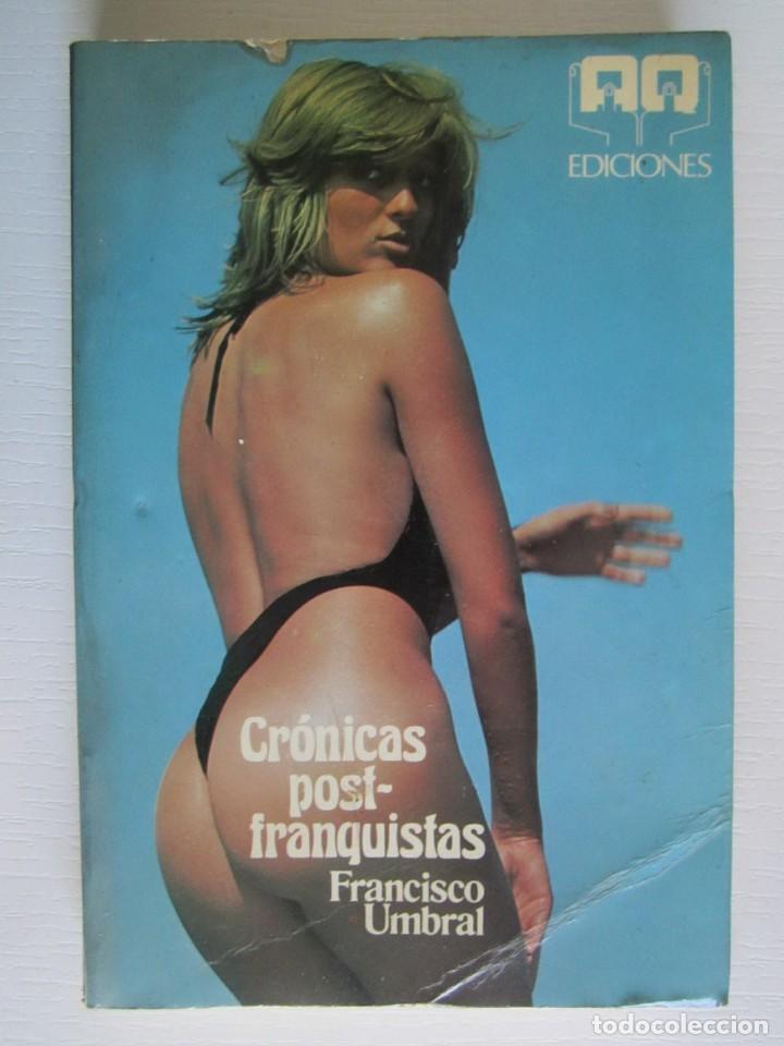 LIBRO CRONICAS POSTFRANQUISTAS UMBRAL (Libros sin clasificar)