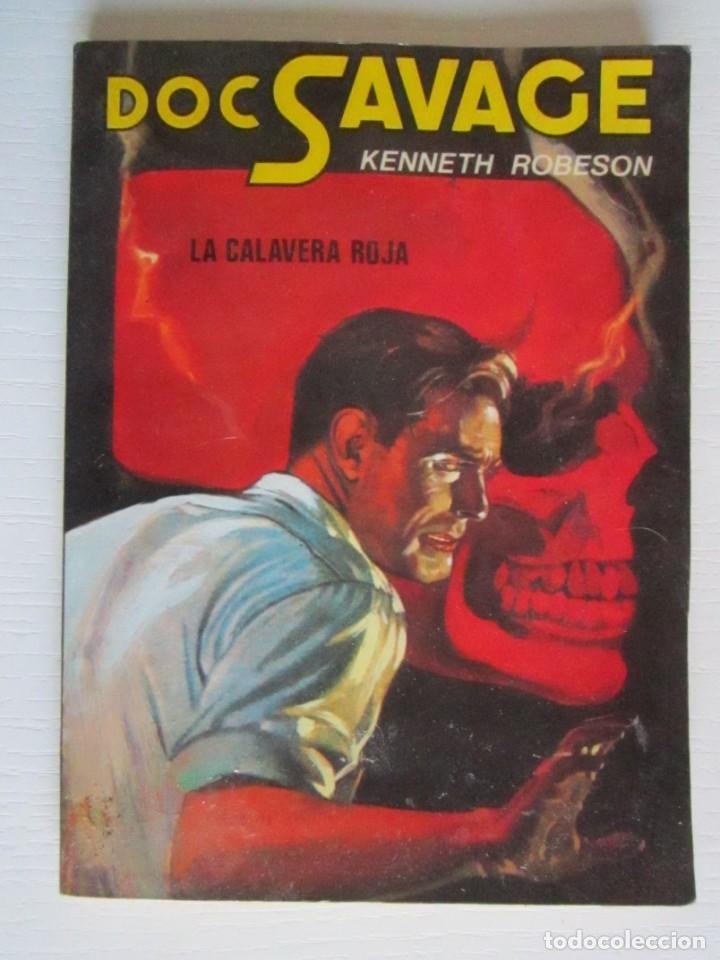 LIBRO DOC SAVAGE LA CALAVERA ROJA (Libros sin clasificar)