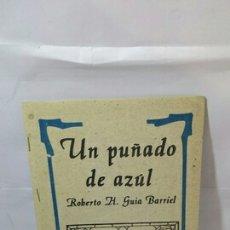 Libros: UN PUÑADO DE AZUL. Lote 202778548