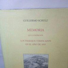 Libros: MEMORIA QUE COMPRENDE LOS TRABAJOS VERIFICADOS EN EL AÑO DE 1855. Lote 202931166