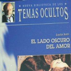 Libros: EL LADO OSCURO DEL AMOR DE LUCIA SUTIL. Lote 202933540