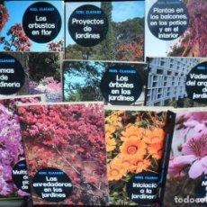 Livros em segunda mão: CLARASO, NOEL - MANUALES DE JARDINERIA. COLECCIÓN COMPLETA 10 VOLÚMENES.. Lote 202947993