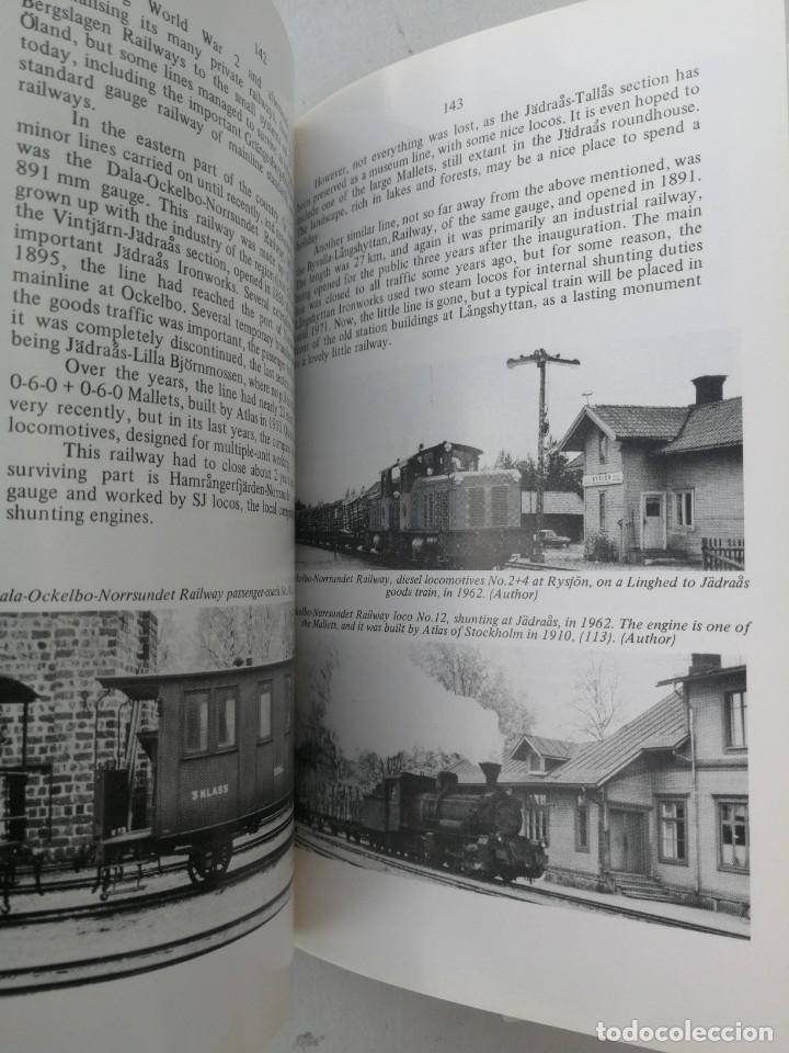 Libros: FERROCARRILES, LOCOMOTORAS, TRENES DE ESPAÑA Y SUS ESTACIONES EN EL SIGLO XX - BYGONE LIGHT RAILWAYS - Foto 5 - 203072433