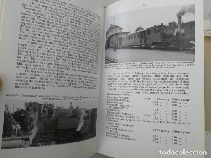 Libros: FERROCARRILES, LOCOMOTORAS, TRENES DE ESPAÑA Y SUS ESTACIONES EN EL SIGLO XX - BYGONE LIGHT RAILWAYS - Foto 6 - 203072433