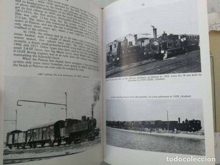 Libros: FERROCARRILES, LOCOMOTORAS, TRENES DE ESPAÑA Y SUS ESTACIONES EN EL SIGLO XX - BYGONE LIGHT RAILWAYS - Foto 7 - 203072433