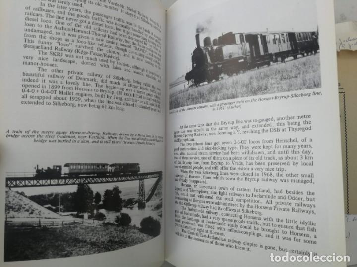 Libros: FERROCARRILES, LOCOMOTORAS, TRENES DE ESPAÑA Y SUS ESTACIONES EN EL SIGLO XX - BYGONE LIGHT RAILWAYS - Foto 8 - 203072433