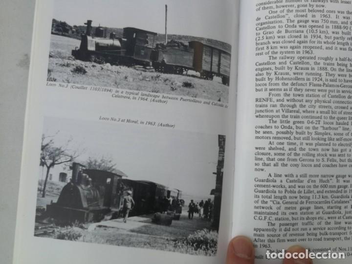 Libros: FERROCARRILES, LOCOMOTORAS, TRENES DE ESPAÑA Y SUS ESTACIONES EN EL SIGLO XX - BYGONE LIGHT RAILWAYS - Foto 9 - 203072433