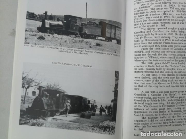 Libros: FERROCARRILES, LOCOMOTORAS, TRENES DE ESPAÑA Y SUS ESTACIONES EN EL SIGLO XX - BYGONE LIGHT RAILWAYS - Foto 10 - 203072433