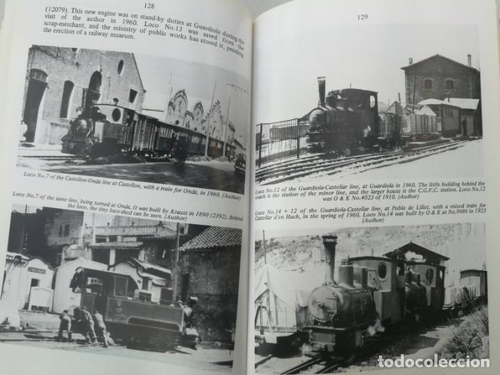 Libros: FERROCARRILES, LOCOMOTORAS, TRENES DE ESPAÑA Y SUS ESTACIONES EN EL SIGLO XX - BYGONE LIGHT RAILWAYS - Foto 11 - 203072433