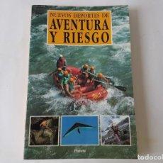 Libros: NUEVOS DEPORTES DE AVENTURA Y RIESGO.. Lote 203172510