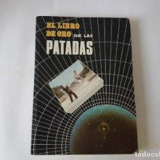 Libros: LIBRO DE ORO DE LAS PATADAS. 1989,. Lote 203175651