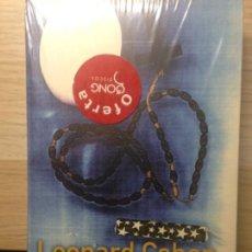 Libros: LEONARD COHEN - LOS HERMANOS VENCIDOS - PRECINTADO - EDICIONES B. Lote 203203537