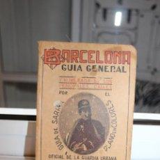 Libros: BARCELONA GUIA GENERAL DE LA CIUDAD Y DE SARRIA, JOSE M.MERINO, IMPR.HEINRICH,1ª EDICIÓN. Lote 203397947