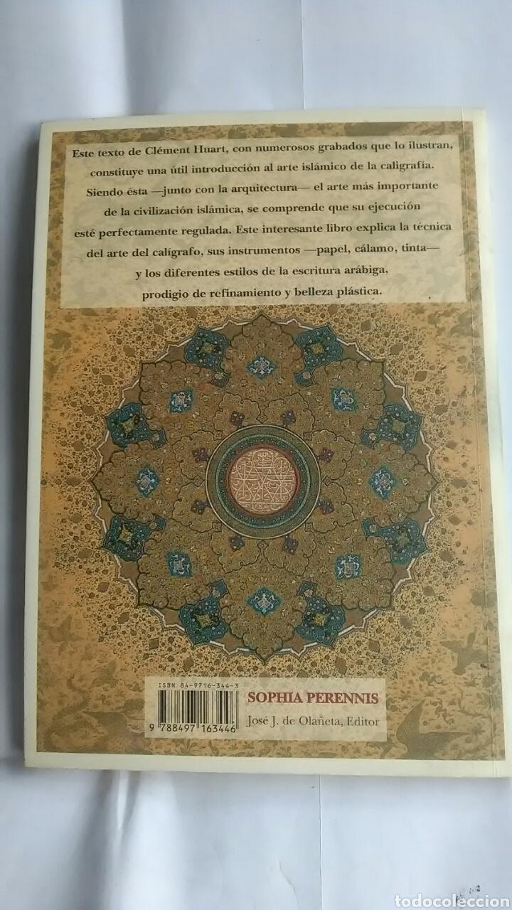 Libros: Caligrafos del Oriente Musulmán. Clement Huart - Foto 2 - 203586251