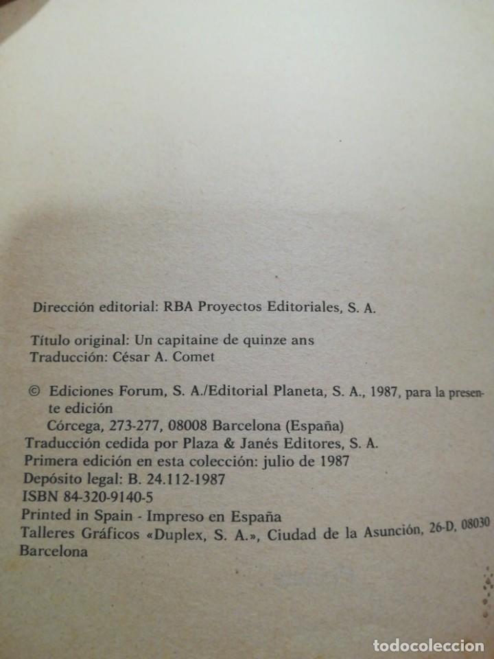 Libros: Coleccion de 25 libros de Julio Verne - Foto 2 - 194138712