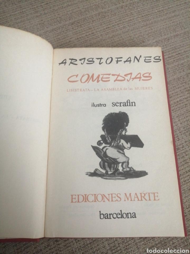 ARISTOFANES LISISTRATA LA ASAMBLEA DE LAS MUJERES (Libros sin clasificar)