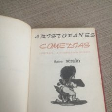 Libros: ARISTOFANES LISISTRATA LA ASAMBLEA DE LAS MUJERES. Lote 203770433