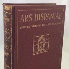 Libros: ARS HISPANIAE, HISTORIA UNIVERSAL DEL ARTE HISPÁNICO. VOL. VI. PINTURA E IMAGINERÍA ROMÁNICAS - WALT. Lote 204216395