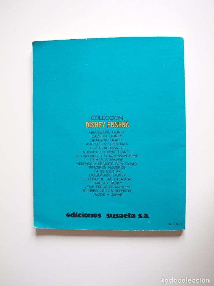 Libros: ¿QUÉ SERÁS DE MAYOR? - WALT DISNEY - COLECCIÓN DISNEY ENSEÑA - SUSAETA 1976 - Foto 6 - 204247793
