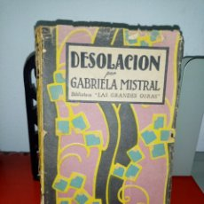 Libros: DESOLACION. GABRIELA MISTRAL. 1945. Lote 205012317