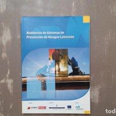 Libros: AUDITORÍAS DE SISTEMAS DE PREVENCIÓN DE RIESGOS LABORALES. Lote 205079608