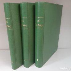 Libros: EL TEBEO, 3 VOLUMENES, COMIC / COMIC, TBO. Lote 205131361