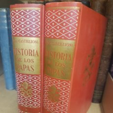 Libros: 2 VOLÚMENES AGOSTINO SABA HISTORIA DE LOS PAPAS EDITORIAL LABOR 1964. Lote 197109000