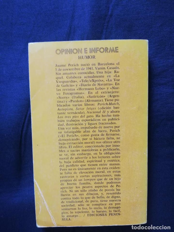 Libros: LOS TRES PIES DEL GATO - PERICH - Foto 2 - 205531258